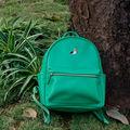 YIZI PU embroidery girls' backpacks in birds series-crow/pelican/parrot/wild goose (FUN KIK)