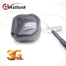 Wcdma 3g o 2g Samll GPRS GSM GPS de Seguimiento de Chip Para Perros Pet niños Personales con Pista del teléfono Móvil añadir A Prueba de agua