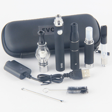 Electronic cigarette kit Multi vape Evod battery with 4 atomizer for dry herb was 4 In 1 gift kit Mt3 Vaporizer ce3 tank ago cig
