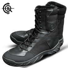 Brand CQB Camping Hiking Boots Winter Trekking Tactical Boots Male Shoes Outdoor Desert Combat Boots Mountains Shoes SL0023