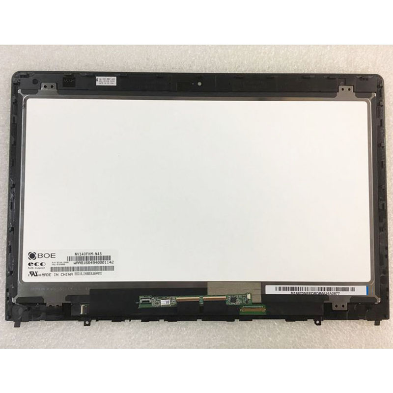 14 0 Laptop LCD touch assembly for Lenovo Yoga P40 Touch display Digitizer replacement NV140FHM N45