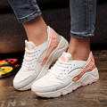 2017 Grils Fashion Canvas Shoes Women Air Mesh Trainers Casual Shoes Ladies Wedges Tenis Feminino Chaussure Femme No Logo