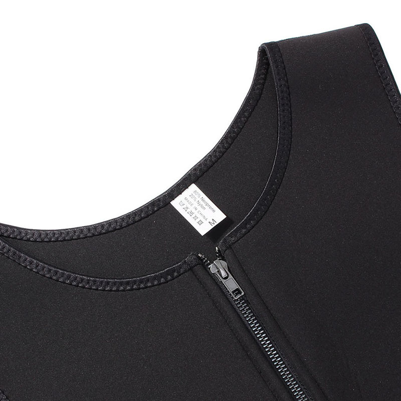 Sport Running Vest Slimming Reduction Shape Bodysuits Man T-Shirt Fitness Gym Sauna Muscular Development Weight Loss Fat Burning (15)