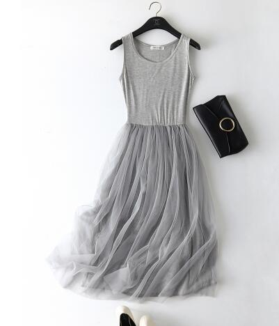 547da71e4f20 Dropwow Rihschpiece Summer Maxi Dress Women Tunic Gauze Sundress ...