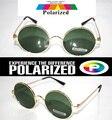 2015 Круглый Ретро классическая TAC водителя усиливается поляризованный поляроид поляризованный гольф рыбалка УФ 400 Мужчины женщины солнцезащитные очки