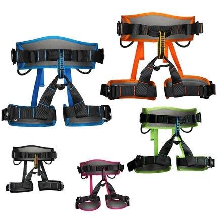 outdoor climbing belt high-altitude operation rope rapid descent safety belt climbing safety belt safety belt Harnesses wrap skinny rope belt