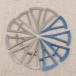 나사 조정 스타일 캘리퍼스 20mm 스트레이트 안과 용 눈 도구 도구 스테인레스 스틸/티타늄 합금 외과 캘리퍼스