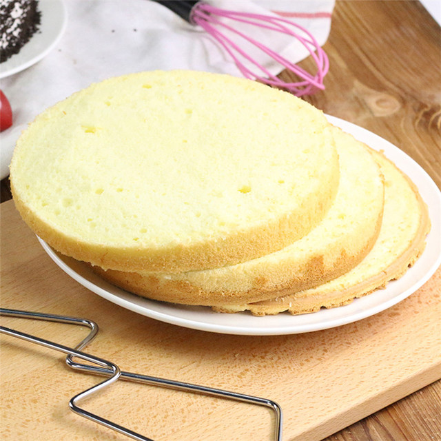 TTLIFE 1pc Double Line Adjustable Stainless Steel Cake Cut Slicer Device Cake Decorating Mold DIY Bakeware Kitchen Cooking Tool