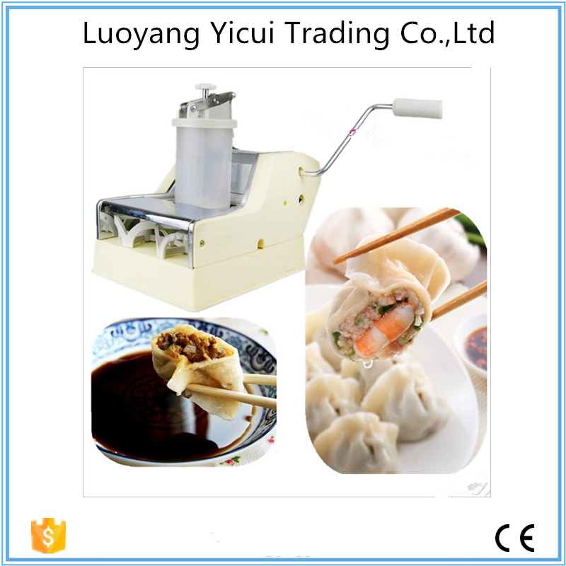 ФОТО Chinese best favored hand operation dumpling maker machine for sale