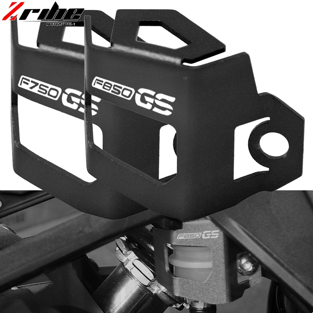 Motorcycle CNC Aluminum Rear Brake Fluid Reservoir Guard Protector accessories For BWM F750GS F850GS F 750GS F 850GS F850 GS