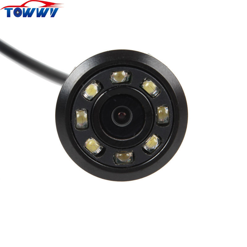 OE404 HD Night Vision Reversing Rearview font b Camera b font With 8 IR Lights 170