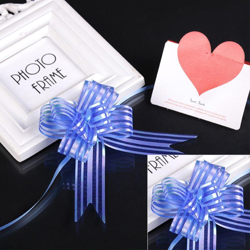 50 pz/100 pz pull bow ribbon confezione regalo accessori per diy festival di cerimonia nuziale del regalo della decorazione forniture regalo di imballaggio decor p30