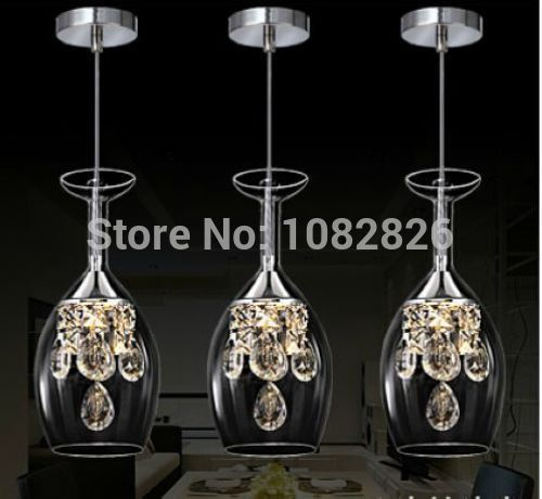 New modern crystal wine glass glass bar suspension lighting pendant new modern crystal wine glass glass bar suspension lighting pendant lamp restaurant light led wine glasses in pendant lights from lights lighting on mozeypictures Images