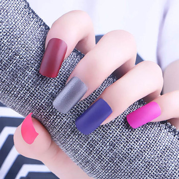 Women Professional DIY Nail Art Long Lasting Sexy Matte Nail Polish Quick Dry Matte Nail Polish 18 ml Nail Polish