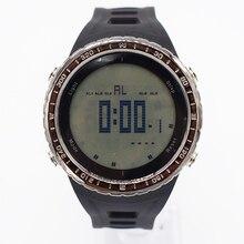 Negro a prueba de agua digital de muñeca automático relojes para hombres reloj running mens hombre reloj multifunción digitales digitais saat ots