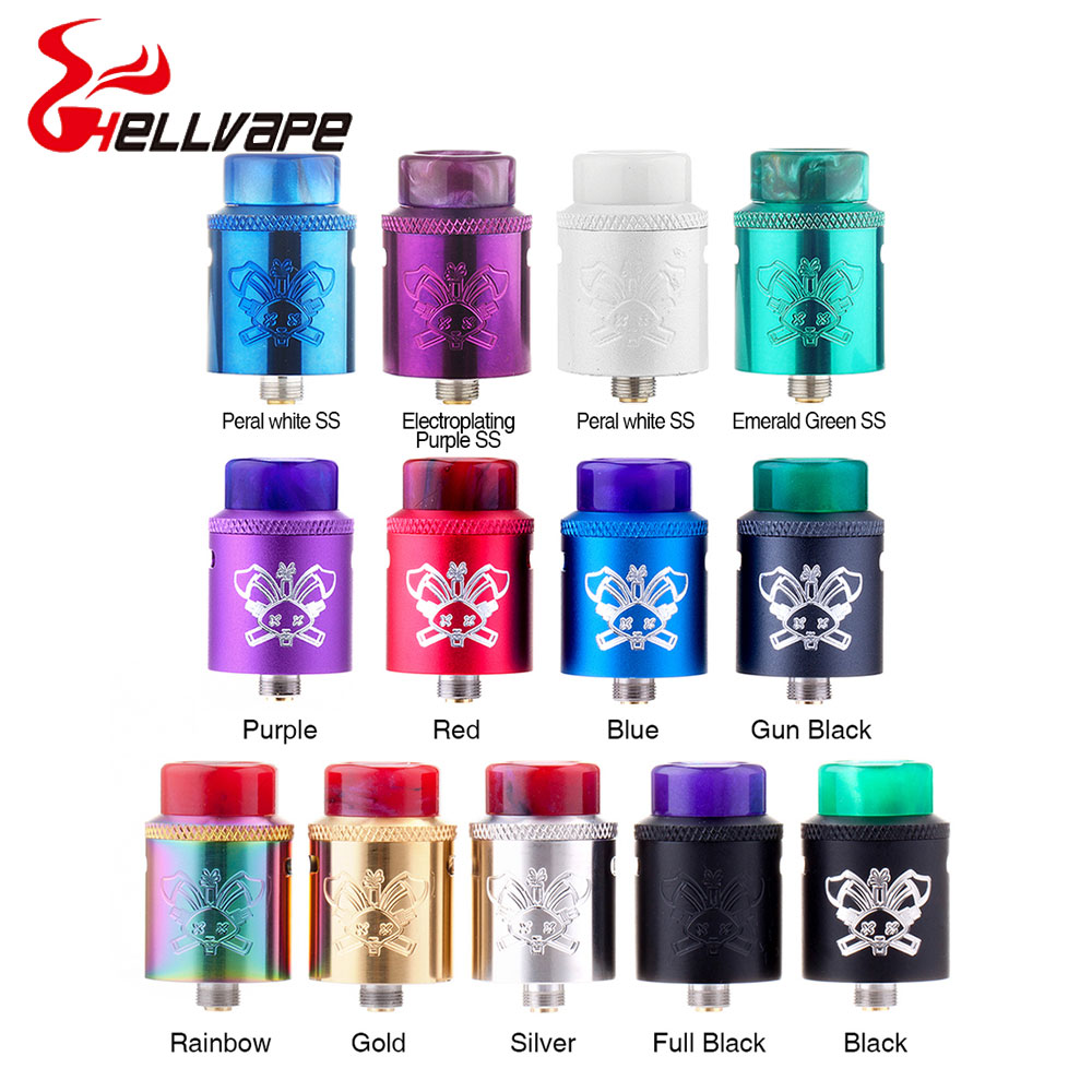 все цены на 100% Original Hellvape Dead Rabbit SQ MTA RDA Tank with 22mm Diameter & 510 pin & peek insulation for hybrid top cap e-cig tank