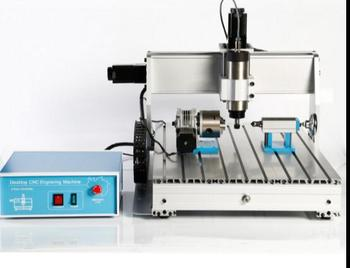 Small woodworking CNC engraving machine 4axis CNC6040 DIY PCB 2.2KW acrylic processing belt spindle inve