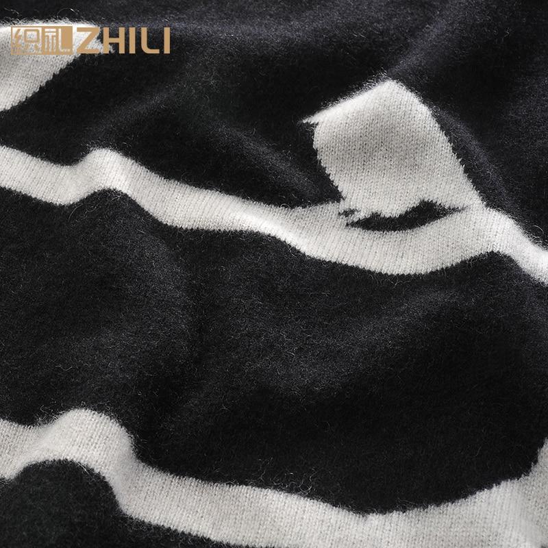 Pull Pour Noir Offre Pulls Femmes Nouveau Chandails Cachemire Spéciale O Filles 100 Chaud Pur cou Standard Chandail 2017 Hiver qaUBwZx