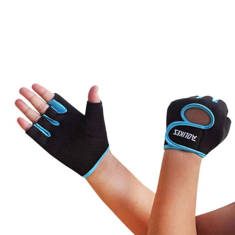 Hot Multi-colors Women Men Fitness Exercise Workout Weight Lifting Sport Gloves Comfortable Gym Training Hiking Gloves New