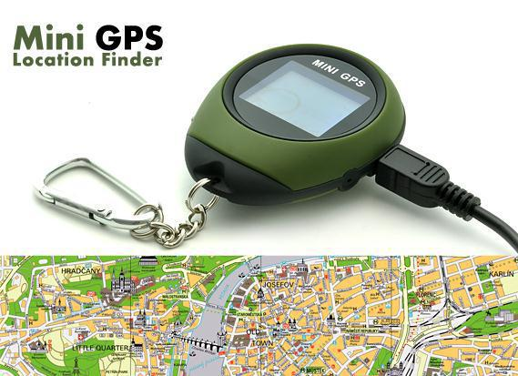 Mini GPS Tracker PG03 Keychain Handheld Purse Tracker Navigator USB Charging Outdoor Sports Climbing Long Trip