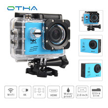 Action camera deportiva Video CAmera Ultra HD 4K WiFi 1080P 60fps 2 0 LCD 170D sport