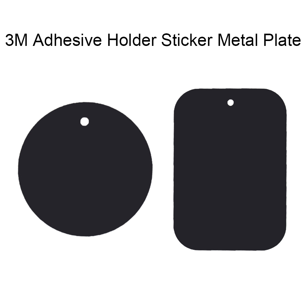 Hot sale Metal Plate Universal Replacement Metal Plate Kit Glue Adhesive for Magnetic Car Mount Phone Holder Magnet Mobile Stand