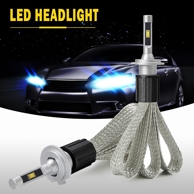 Green-L LED Car Lights 11000LM 100W Bulb 12V 6000K LED H4 H3 9005 h1 lamp H7 H11 Lamps For Car fog lights headlight h4 led 24v 2x 20w h4 led bulb cree xte car fog light dc12v 24v 360degree white6000k720lm white headlight 6000k fog lamps up to 50 000 hours