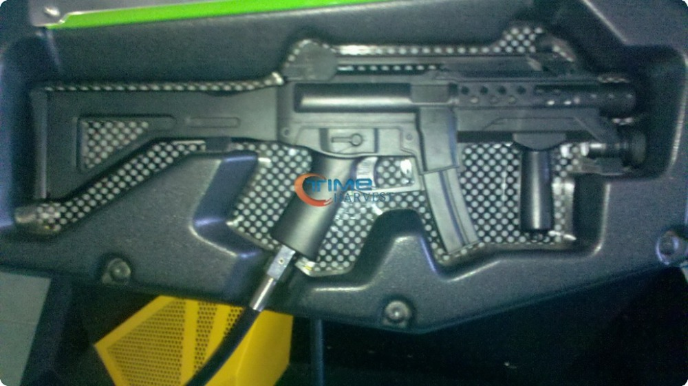 The gun for the Rambo amusement machine good quality complete gun with sensors and all internals for shooting game machine