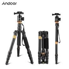 Andoer QZ 278 Chân Máy Ảnh Chuyên Nghiệp Tripod Monopod W/Bóng Đầu dành cho Máy Ảnh Canon Nikon Sony DSLR Chân Máy tốt hơn so với Q999s q666 Pro