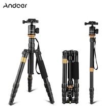 Andoer QZ 278 חצובה מקצועית מצלמה חצובה חדרגל w/כדור ראש עבור Canon Nikon Sony DSLR חצובה טוב יותר מ Q999s q666 פרו