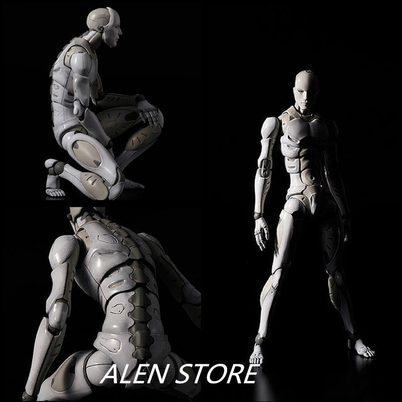 ALEN Heavy Industries Male Voxel 1/6 Action Figure Figma PVC SHFiguarts Ferrite Body Kun Figure Sketch Model for Gift цена
