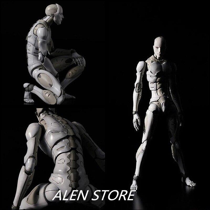Alen Heavy Industries мужской воксела 1/6 фигурку Figma ПВХ SHFiguarts ферритовый тела Кун Рисунок эскиз модели для подарка