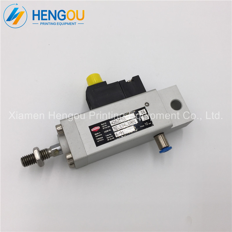 Heidelberg solenoid valve cylinder 92.184.1001 for Heidelberg CD102 SM102 CD74 machine D20 H10 heidelberg sm102 cd102 cleaning ink roller cylinder 61 184 1111