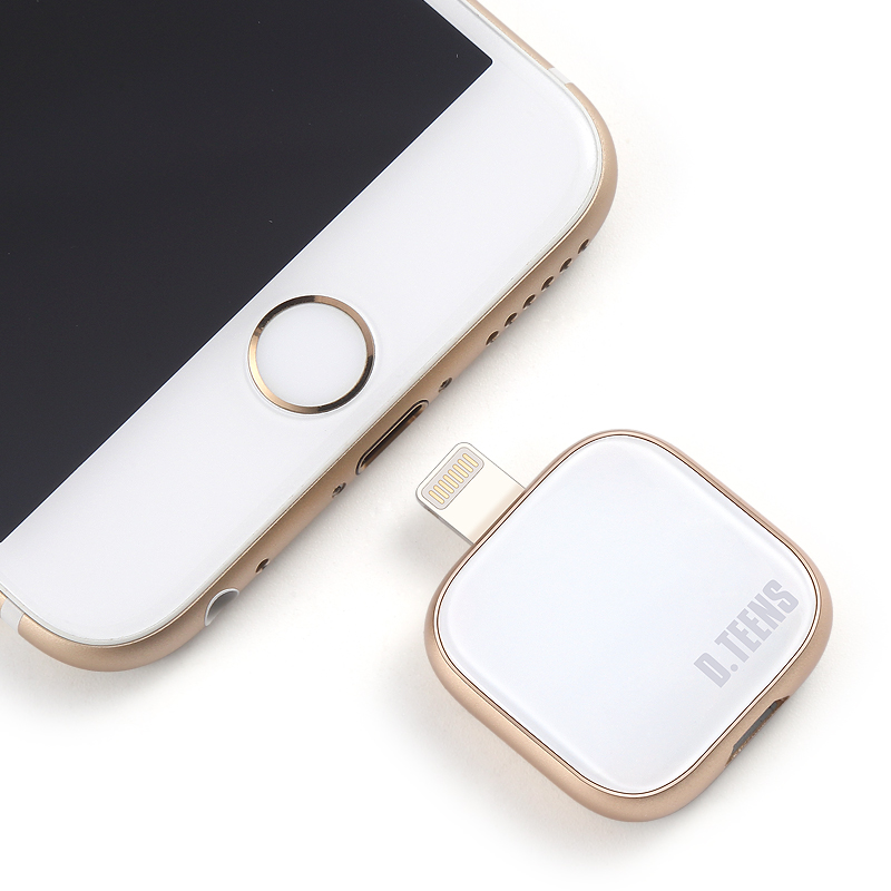 Dteens USB pendrive 32GB  For iPhone 7 7 Plus 6 5 5S iphone 8 x Lightning to Metal flash drive U Disk for MFi iOS10 memory stick аксессуар remax usb lightning shell rc 040i для iphone 6 6 plus 1m white 14323