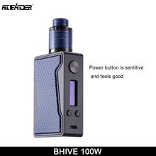 100% Original Aleader BHIVE 100W Vaporizer Kit Box Shape Portable Vape Pen 7ml PET Food Grade Electronic Cigarette Kit Vaper