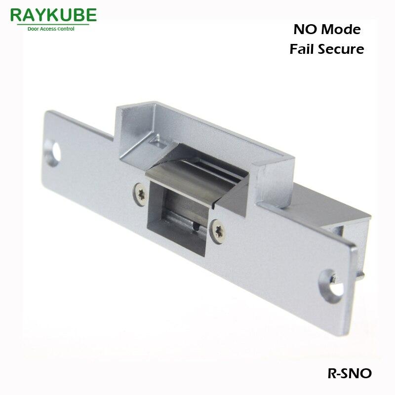RAYKUBE Gâche Électrique Serrure De Porte Pour Système de Contrôle D'accès Fail Secure R-SNO