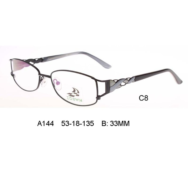 Nuevos vidrios de la manera señora marcos puntos mujeres armação oculos de grau feminino speticals marco óptico óptica gafas de marco de cristal