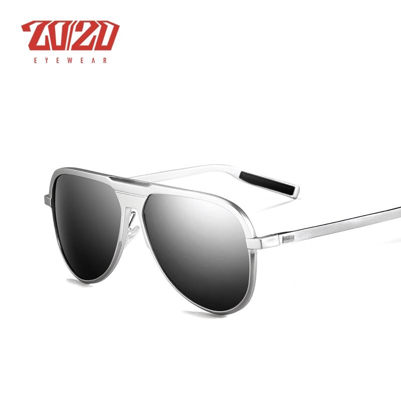 Image 4 - 20/20 Unisex Classic Brand Aluminum Sunglasses Men Polarized UV400 Mirror Male Sun Glasses Women For Men Oculos PK016brand sun glassessun glassessun glasses brands -