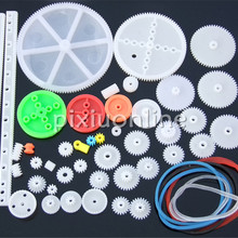 43pcs/bag K1000 Several Different Plastic Gears and Worms an