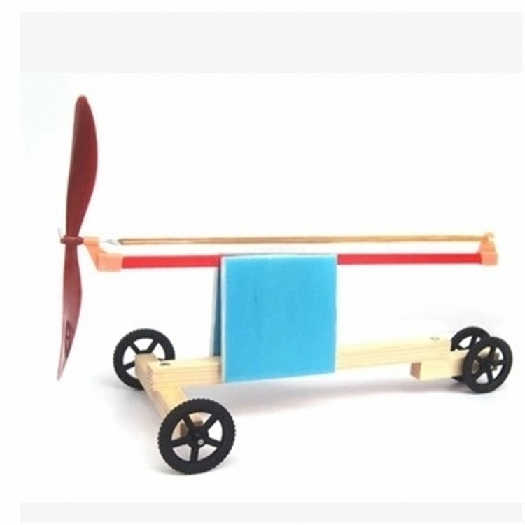 Rubber Band Power Windmill School Students Physical Science Educational Experiment Material Best Gifts For Your Children Kids
