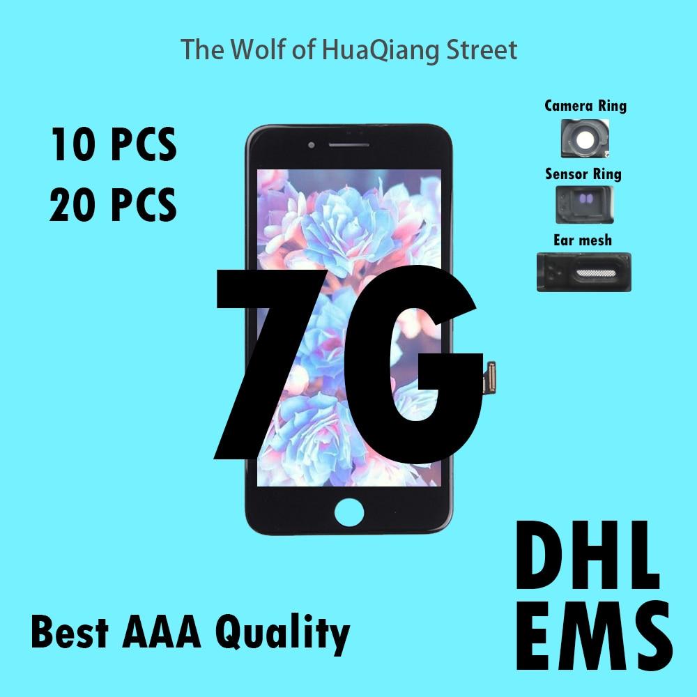 10 20 pcs Tianma Qualité AAAA LCD Pour iPhone 7g 7g LCD Assemblée D'affichage avec Écran Tactile de Remplacement digitizer