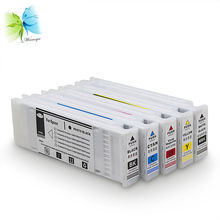 700ml full of ink cartridge for epson printer, compatible with pigment or sublimation sc-t7200