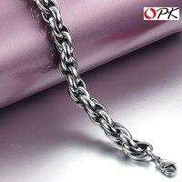 Titanium Steel link Chain Bracelet, Fashion Cable Bracelet. 3