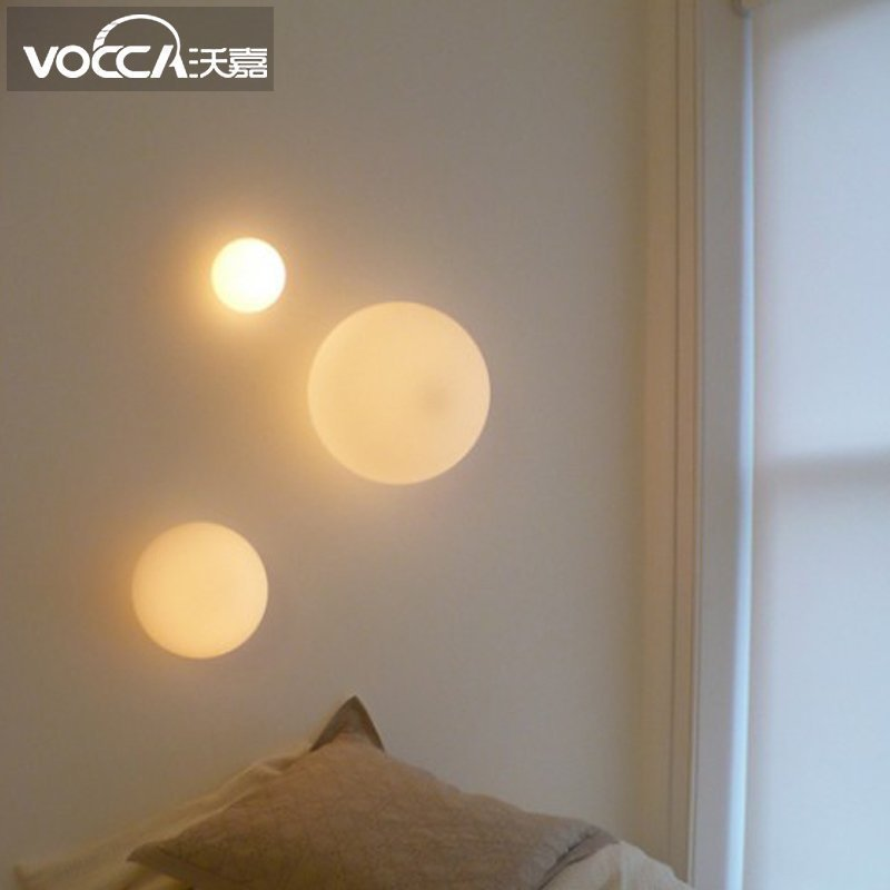 and contracted sitting room to the balcony of bedroom the head of a bed staircase corridor lamps and lanterns led corridor to the sitting room the bedroom of the head of a bed 31w 40w european wall lamp 110v 240v 9