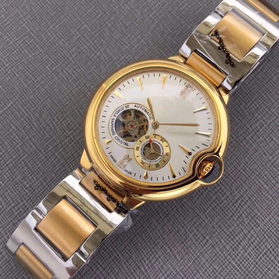 WC0785 Mens Watches Top Brand Runway Luxury European Design Automatic Mechanical Watch цена и фото