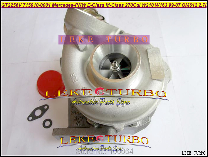 GT2256V 715910  715910-0002 715910-0001 A6120960599 Turbo For Mercedes PKW E-Class 270 CDI W210 M-Class W163 1999-07 OM612 2.7L