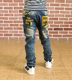 Новинка; детские джинсы хорошего качества; весенне-осенние джинсы для мальчиков; детские брюки; розничная