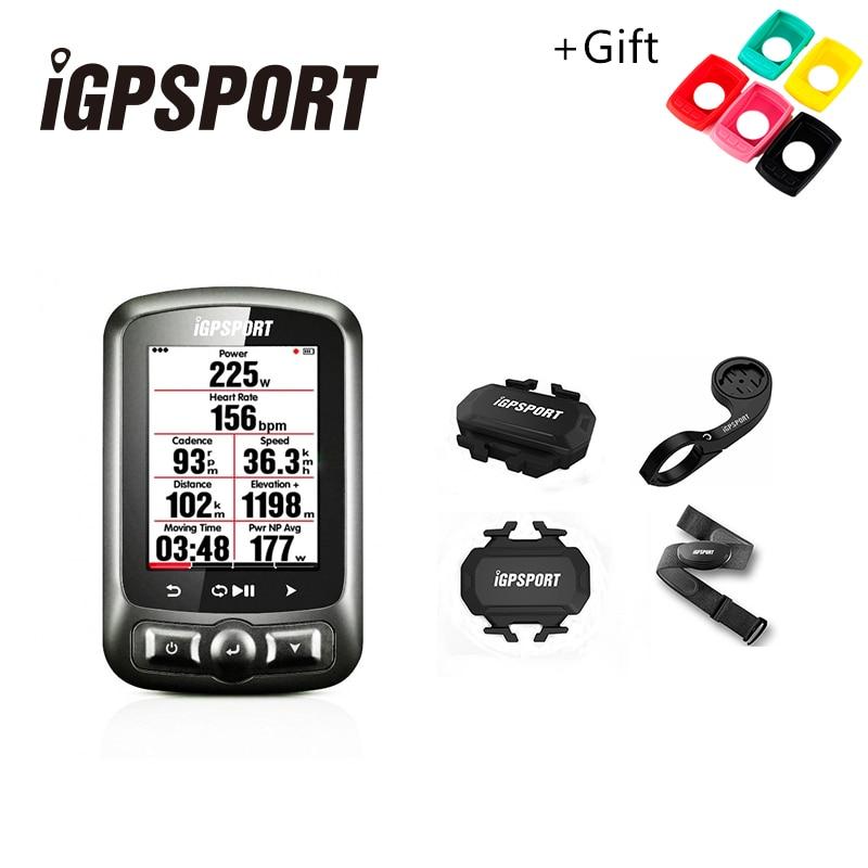 IGPSPORT ANT + GPS IGS618 Vélo Bluetooth Sans Fil Chronomètre Compteur De Vitesse Étanche IPX7 Vélo Vélo Compteur De Vitesse Ordinateur