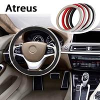 Atreus Diamond Car steering wheel covers rims Genuine styling For Nissan qashqai Citroen c4 c5 c3 Chevrolet cruze aveo Peugeot