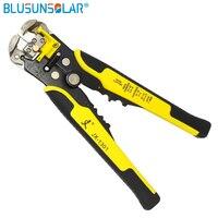 Descascador de fio automático para cabo  ferramenta cortadora terminal AWG24-10(0.2-6.0mm2)  1 peça ferramentas de instalação pv xq0090
